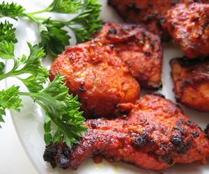 Pollo al estilo indio