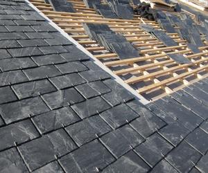 Colocación de pizarra en tejados