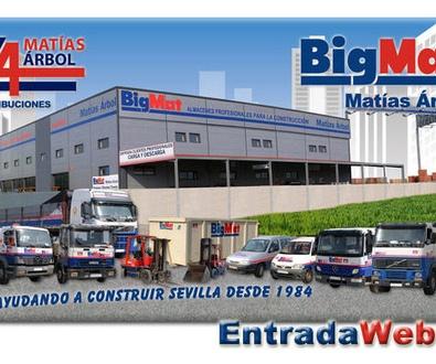 BigMat Matías Arbol, nuestro proveedor de materiales de construcción