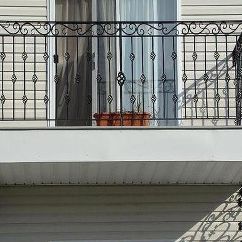 Rejas y forja de de ventanas y puertas en Riaza - Segovia