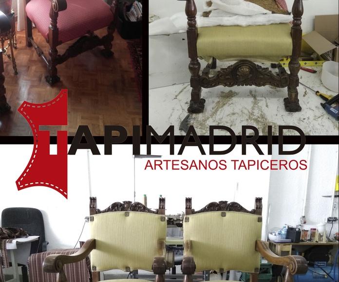 Restauración y Fabricación: Servicios de TapiMadrid