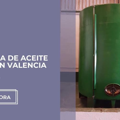 Recogida de aceite usado en Valencia | Ecochidan 21