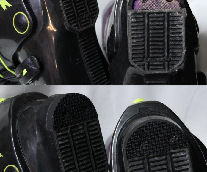 Reparación de tacón en botas de esqui