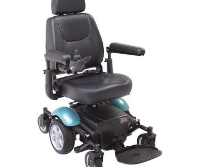 Silla de ruedas eléctrica R300 en exposición