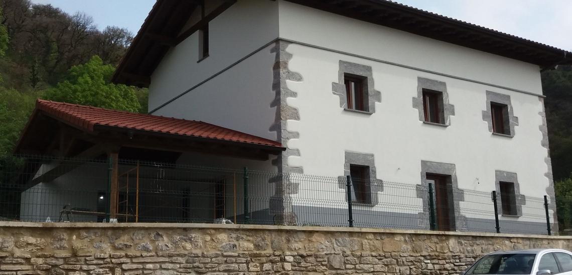 Rehabilitación de fachadas en Lekunberri