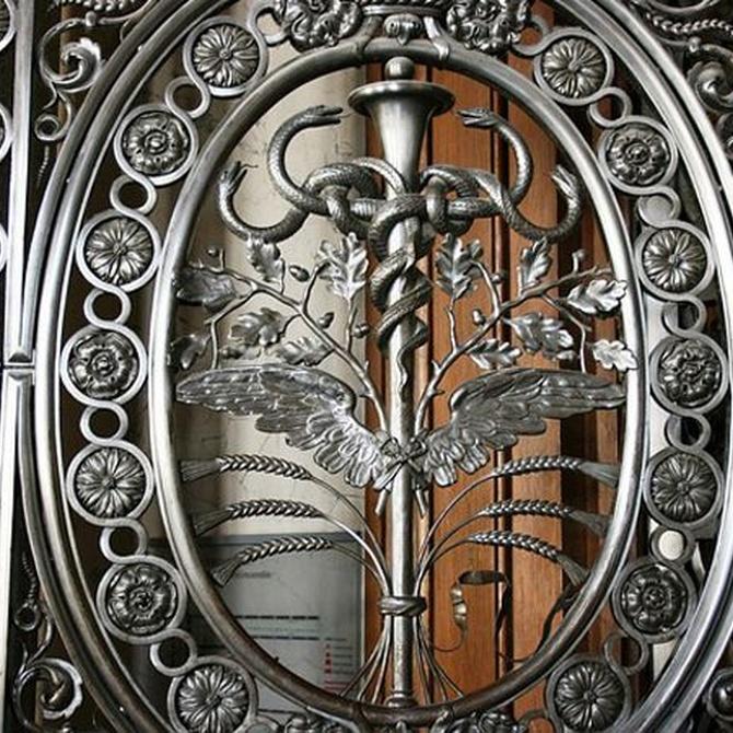 El hierro forjado en decoración