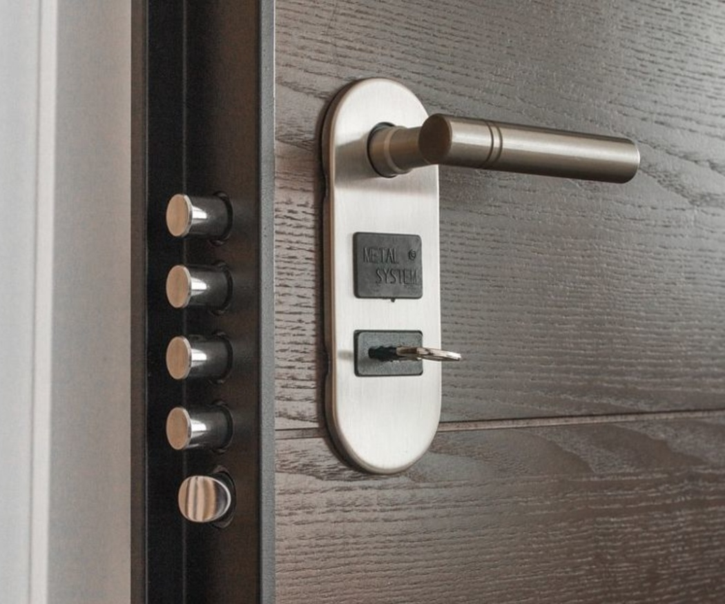 La cerradura es la parte más importante de la puerta