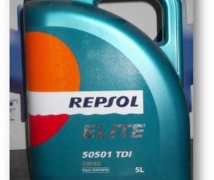 Aceite  Motor Repsol 5W40 5L