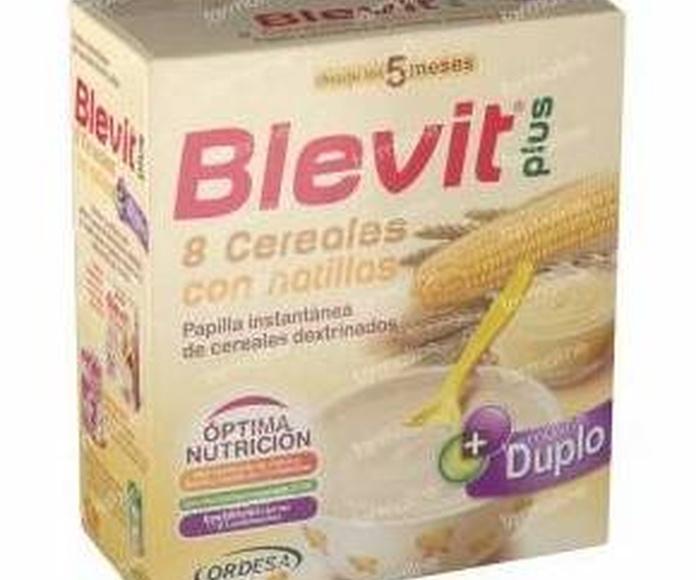 Blevit Plus Duplo 8 cereales con natillas: Productos de Parafarmacia Centro