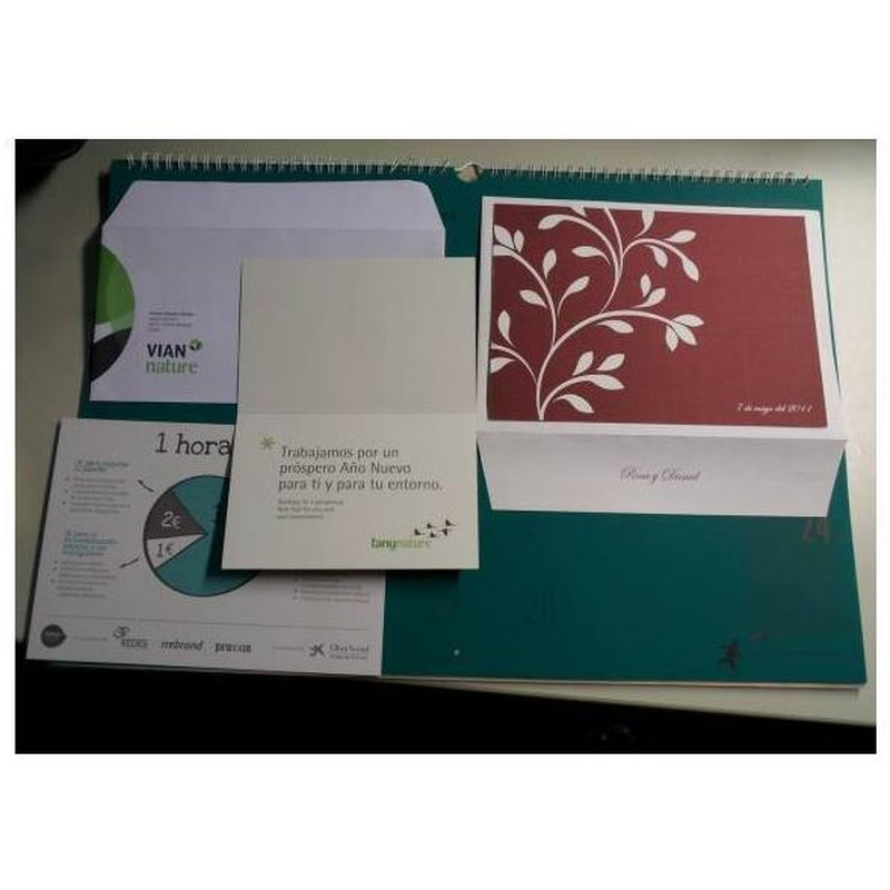 Sobres y agendas: Catálogo de Imprenta Jaspe