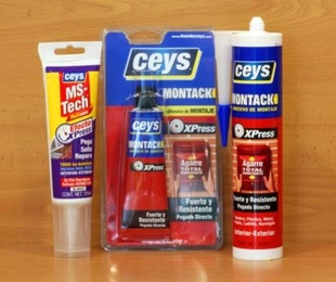 Adhesivos de montaje