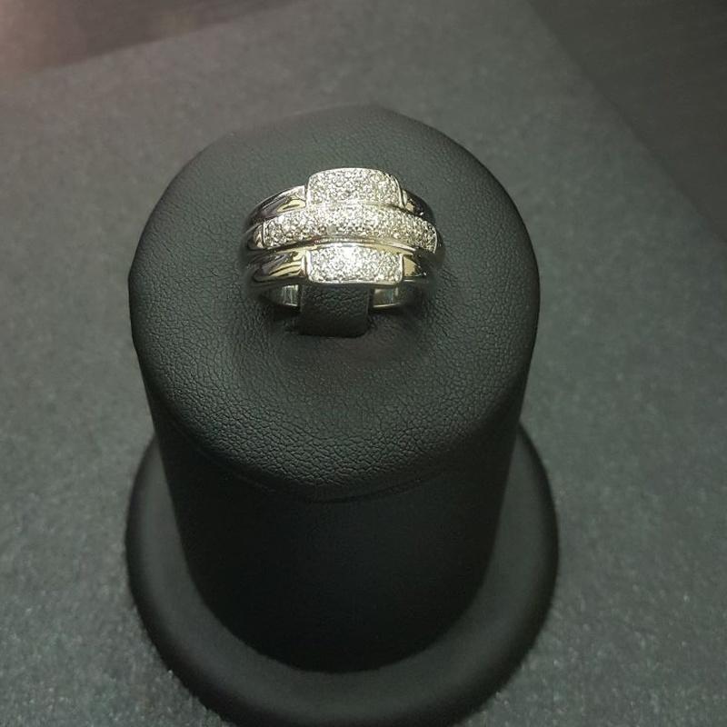 Anillo oro blanco con diamantes: Compra Venta de Oro y Plata de MR. SILVER & GOLD