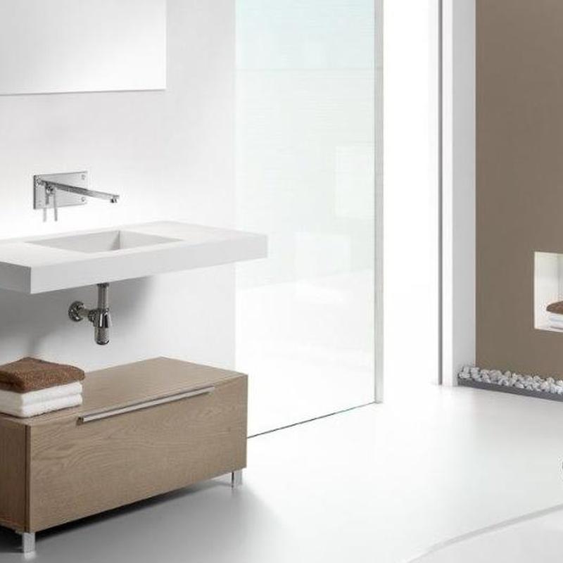 Mueble de baño VIdrebany colección Up&Down modelo Down