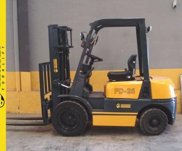Carretilla diesel EUROYEN Nº 6145