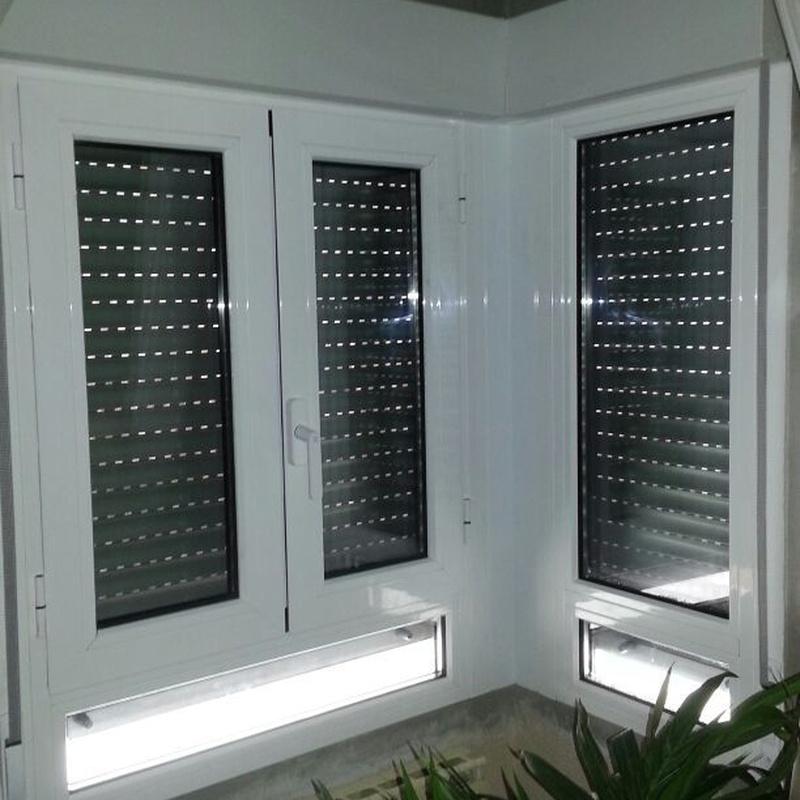 Cerramientos de aluminio: Productos y servicios de Aluminios Tascón