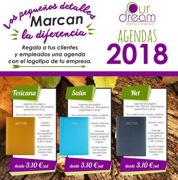 Agendas 2018 en Las Palmas