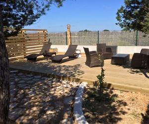 Vivienda turística con jardín en Formentera