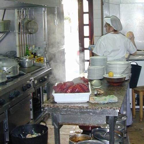 La cocina, el corazón del restaurante