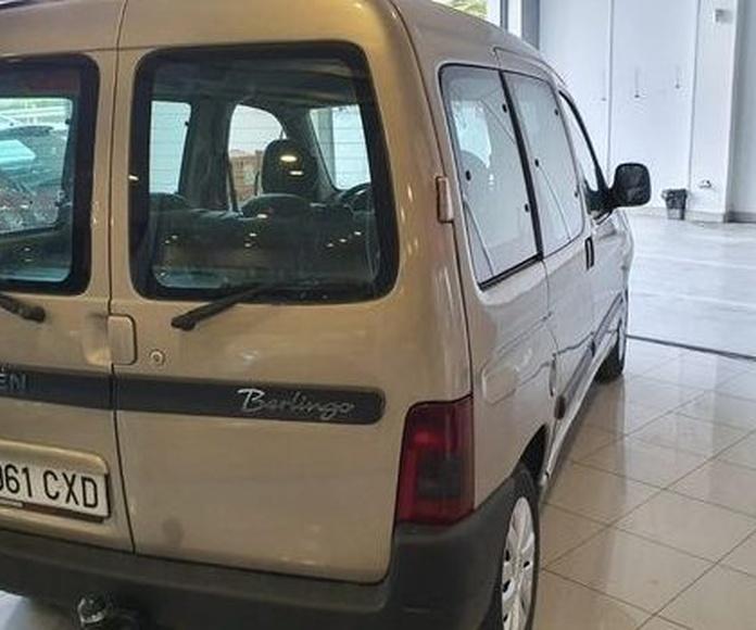 CITROEN BERLINGO 1.9D 5 PLAZAS CON ENGANCHE DE REMOLQUE!!: Compra venta de coches de CODIGOCAR