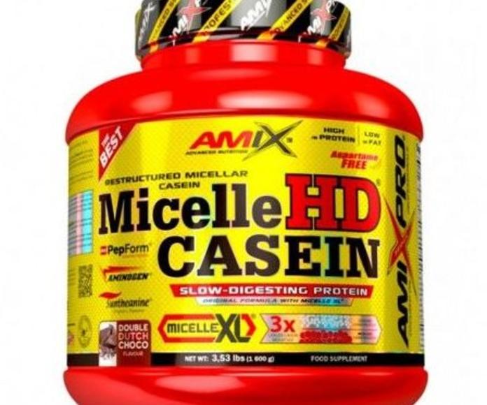 Amix® Micelle HD® Casein es una proteína superior dentro de la gama de proteínas de digestión lenta y única por su composición. Usando los últimos avances y mediante el uso de la tecnología pendiente de patente Micelle XL™, se han combinado moléculas de C