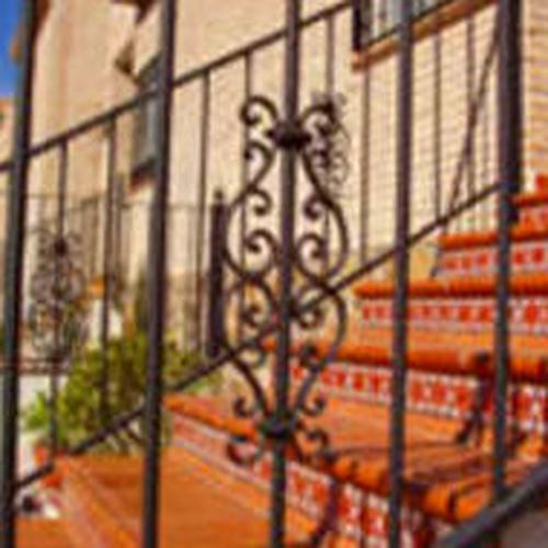 Barandillas de hierro en Illescas, Toledo