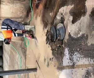 Corte de suelo de 15 cm de espesor