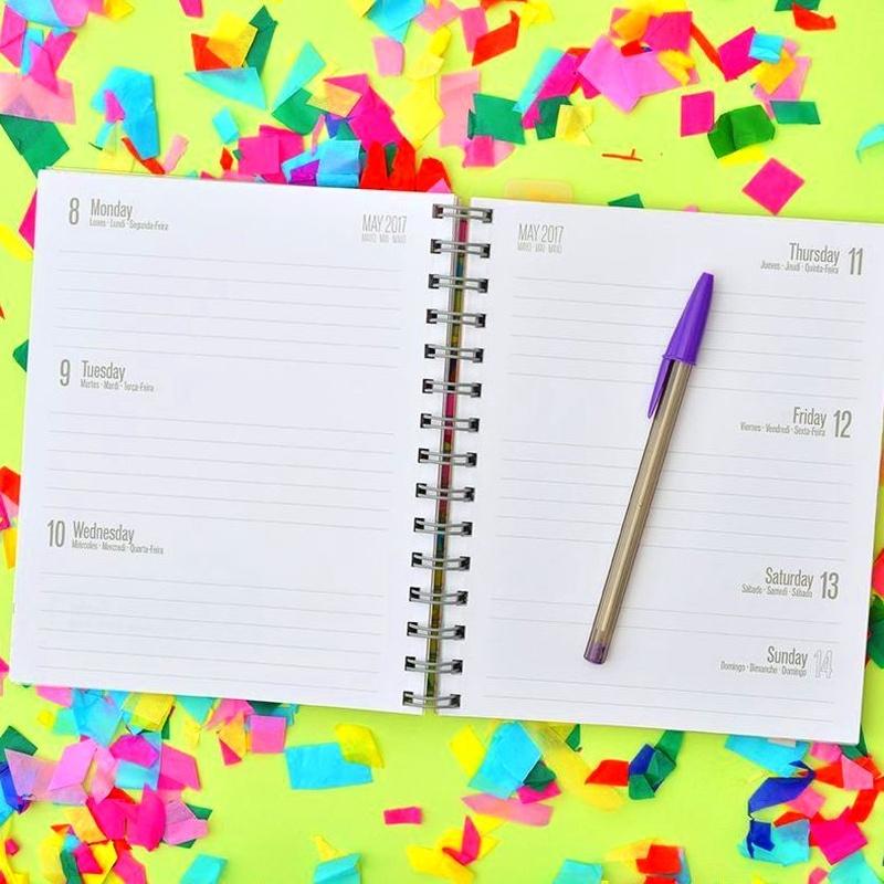 Agenda 2017 Semana Vista Amelie