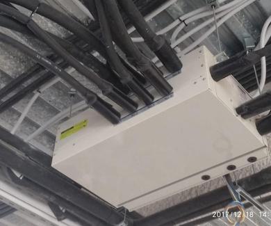 Sistema se aire acondicionado de un edificio de 7 plantas