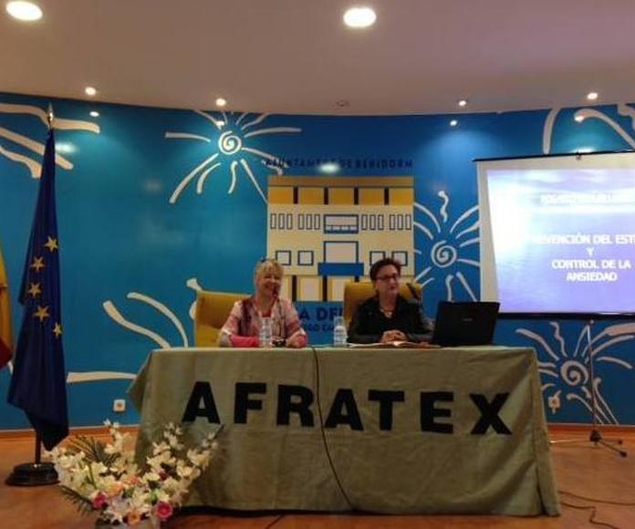 Charlas: Especialidades de Psicóloga Rosario Ortuño