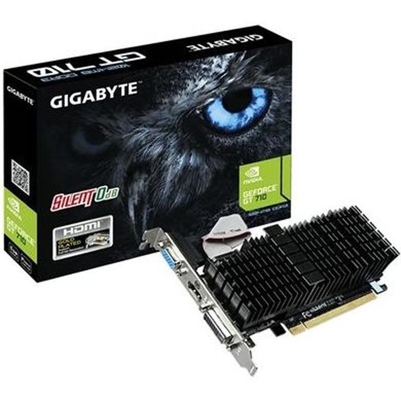 Gigabyte VGA NVIDIA GT 710 SL 1GB DDR3: Productos y Servicios of Stylepc