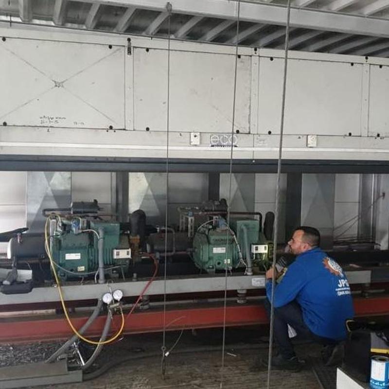 Mantenimiento cámaras frigoríficas industriales