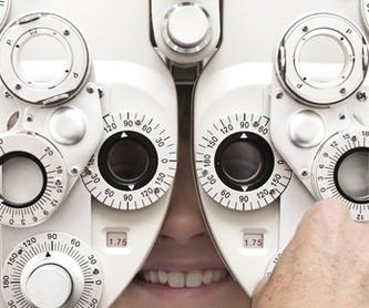 Lentes desechables: Catálogo de Opticalia Gálvez