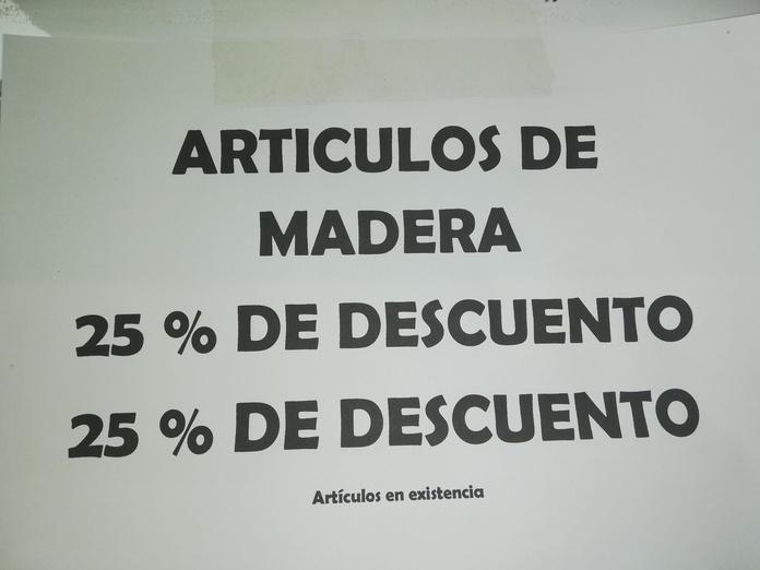 Articulos de Madera: Catálogo de Mercería y Manualidades Ángel y Feli