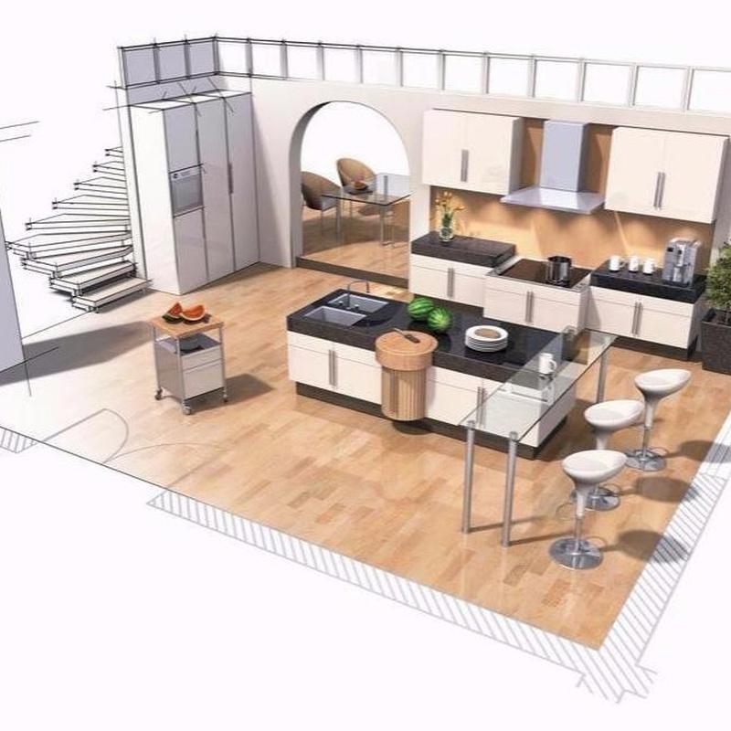 Diseño de cocinas: Productos y servicios de Cocinas Houston