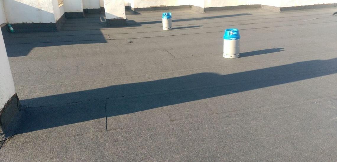 Impermeabilización finalizada de terraza en Lleida