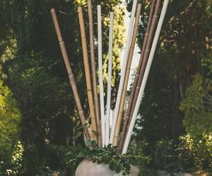 Artículos de decoración bambú