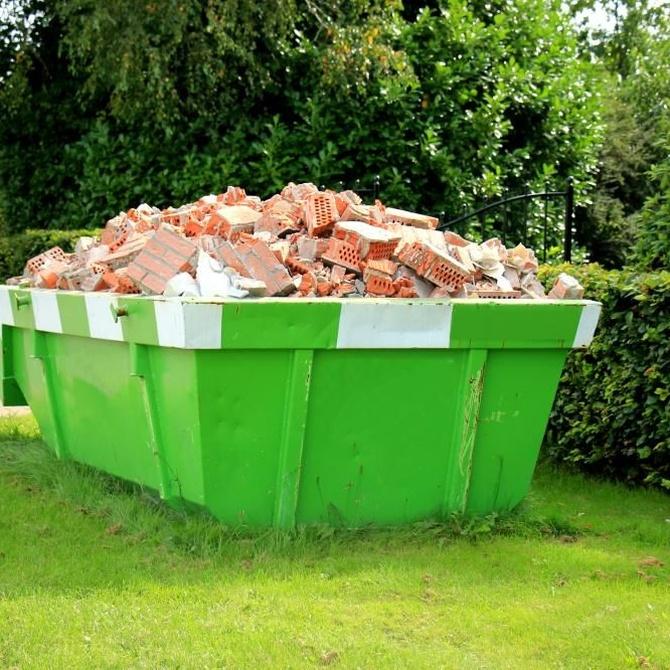 El correcto uso de los contenedores de obra