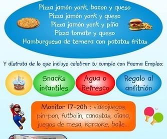 Menú platos combinados: Amplia carta de Restaurante El Cobijo