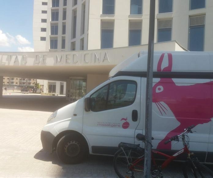 Transporte sanitario: Servicios de Barny Missatgers