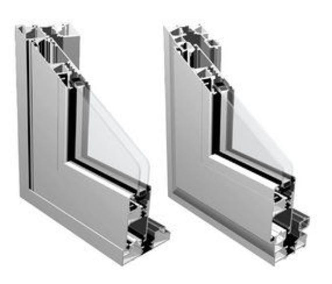 Ventana corredera, serie 80 : Productos y servicios de Metal Masa, S.L.
