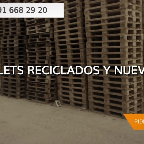 Compraventa de palets en Alcalá de Henares