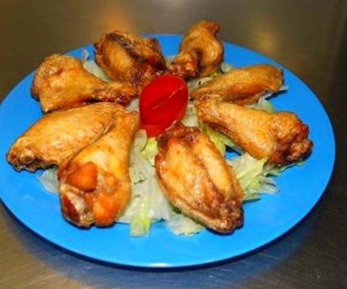 Al pollo: Menú de Palacio de las Patatas(MACARENA)