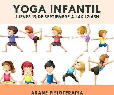 Clase de Yoga Infantil gratuita en Getxo