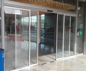 Corredizas peatonales automáticas sistema FR evacuación