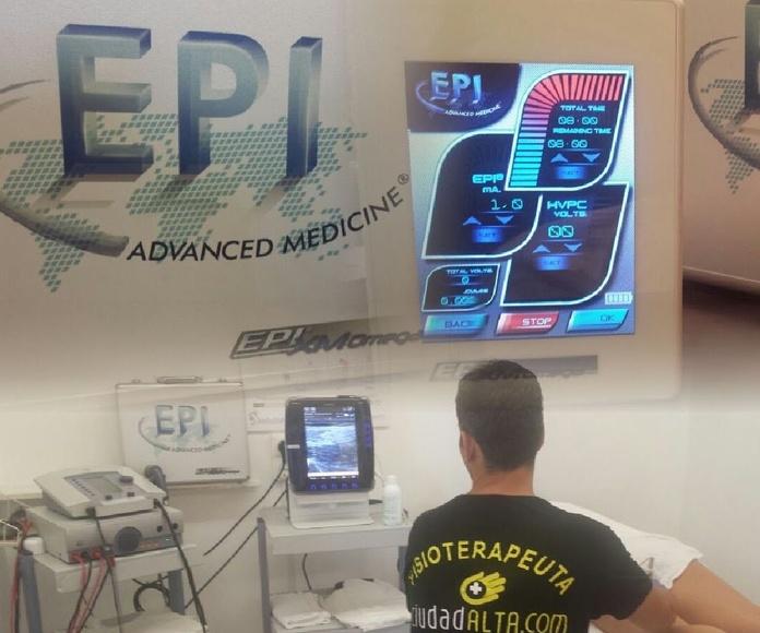 EPI en Las Palmas. Tendinopatías, tendinitis, tendinosis, rotura fibrilar
