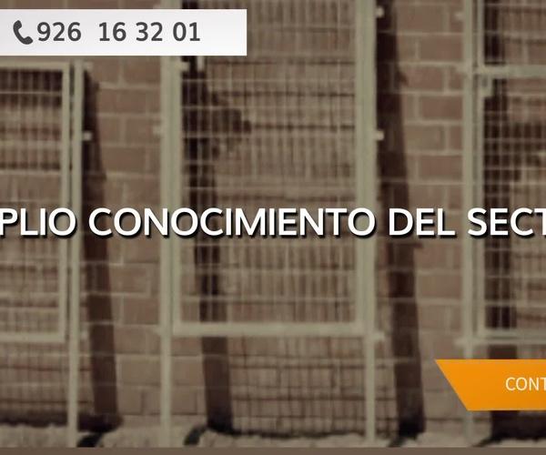 Vallas y cerramientos en Ciudad Real | Cerramientos Portillo