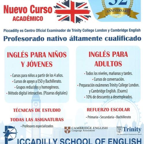 Academia de inglés en San Fernando de Henares | Piccadilly Idiomas