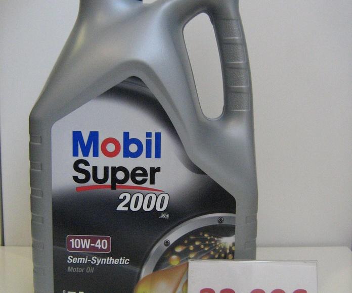 mobil super 2000x1 10w40: Servicios de Safety Car