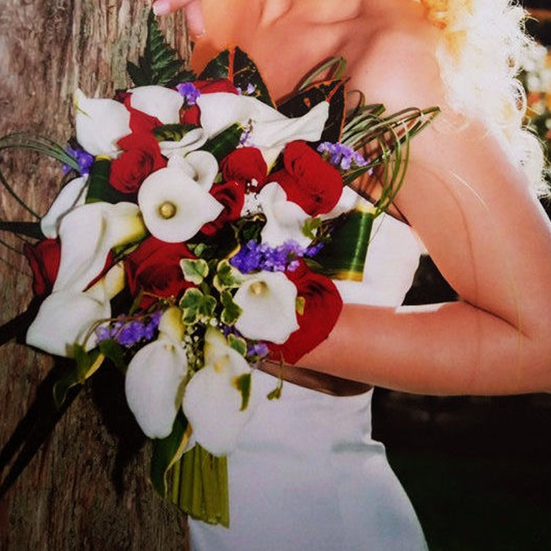 Ramo de novia con caida: Servicios de Floristería Contreras