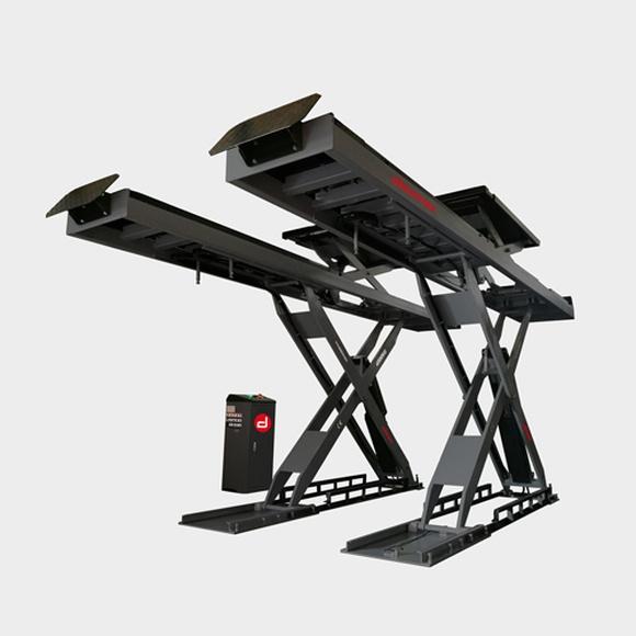 Elevador de tijera, doble elevación de 4500 Kg. de capacidad: Productos de Maquidosa, S.L.